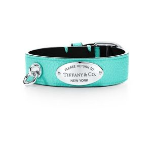 Tiffany& co leather bracelet